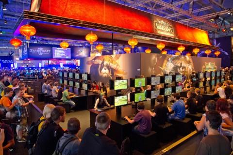 gamescom-stand-blizzard-entertainment