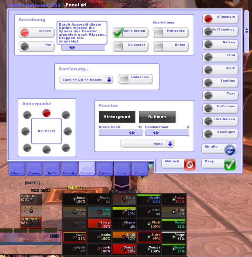 Interfacecheck: Holy-Paladin Pullox » Azeroths Völkerbündnis